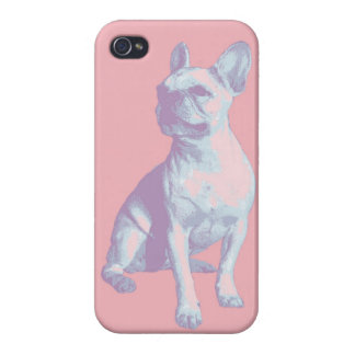 Lola the French Bulldog Covers For iPhone 4