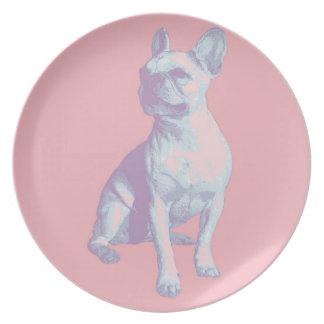 Lola the French Bulldog Melamine Plate