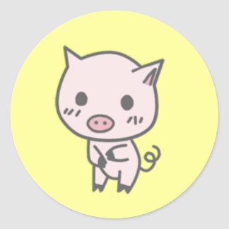 Lola The Pig Stickers 1&1/2in