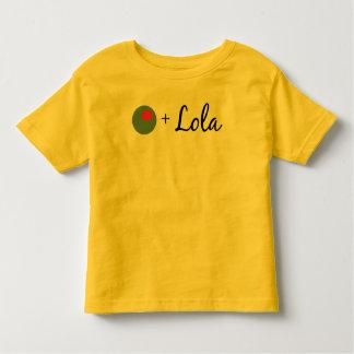 Lola verde oliva tee shirts