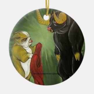 Lola vs The Bull Ornament