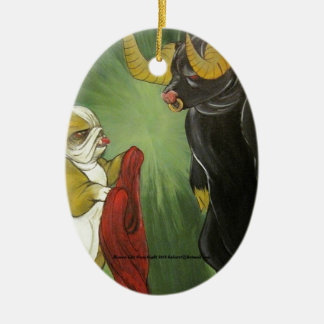 Lola vs The Bull Christmas Ornament