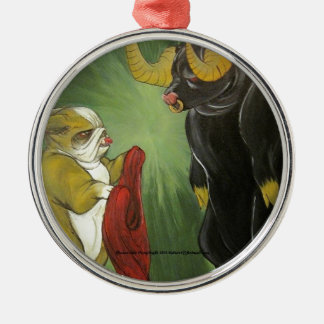 Lola vs The Bull Christmas Tree Ornament