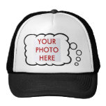LOLbubble photo in thought bubble cap Mesh Hats