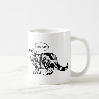 lolcat - i can has? coffee mug
