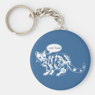 lolcat - i can has? keychain