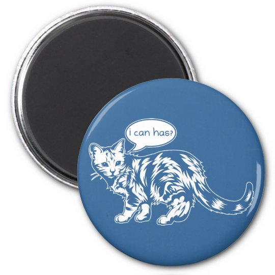 lolcat - i can has? magnet