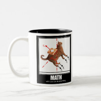 LOLCat: Math Two-Tone Coffee Mug