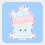 Loli Cupcake Square Stickers