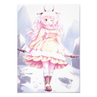 Loli Snow Sheep Photo Print