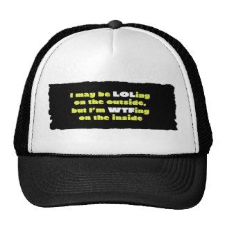 LOLing On The Outside Mesh Hat