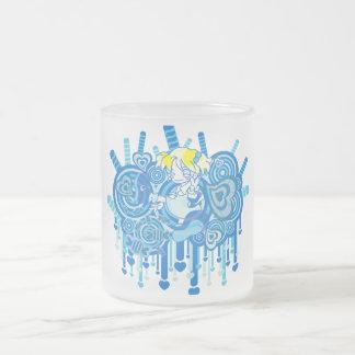 Lolipop_Candy Frosted Glass Coffee Mug