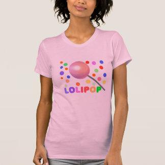 LOLIPOP-Ladies AA Cap Sleeve Raglan Tee Shirts