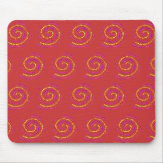 Lolipop Swirl Mouse Pads