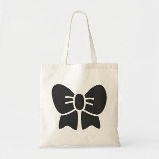 lolita bow tote bags