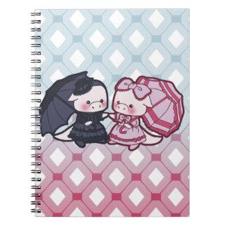 Lolita dragons notebook