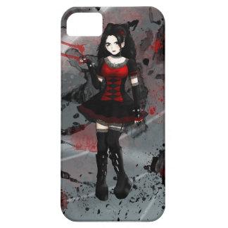 Lolita gótico iPhone 5 protector