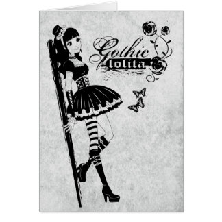 Lolita greeting card