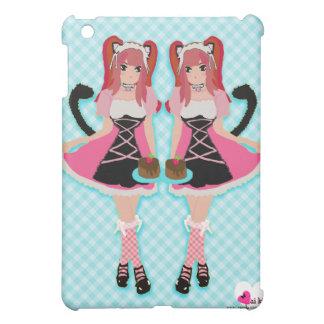 Lolita Neko Maids iPad Case