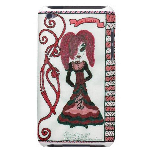 Lolita rosado iPod touch carcasas