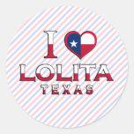 Lolita, Texas Stickers