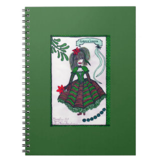 Lolita verde cuaderno