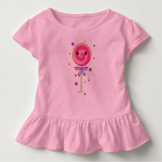 Lolli mono rosas playera de bebé