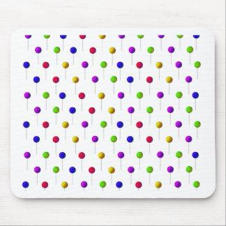 Lollipop Background Mouse Pad