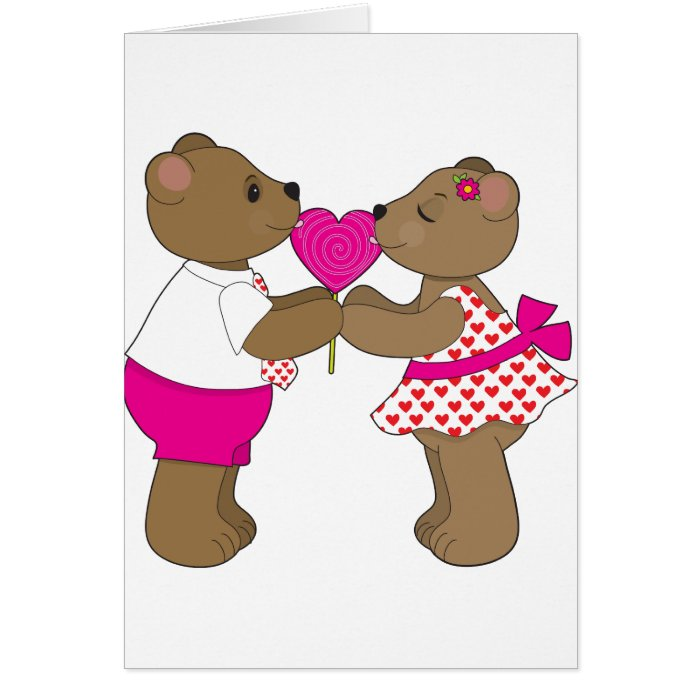 Lollipop Bears Card