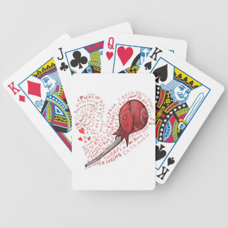 Lollipop Bicycle Playing Cards