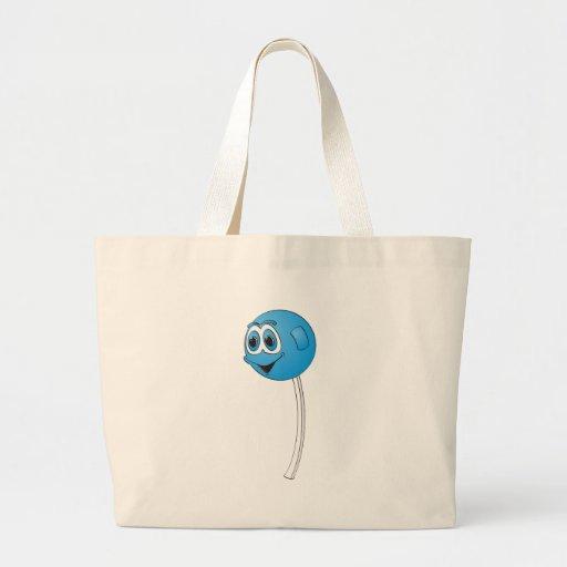Lollipop Blueberry Cartoon Jumbo Tote Bag