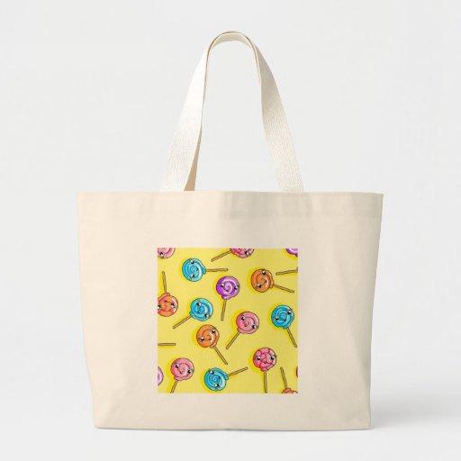Lollipop Canvas Bags
