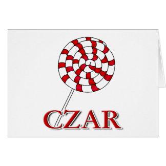 Lollipop Czar Card