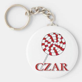 Lollipop Czar Keychain