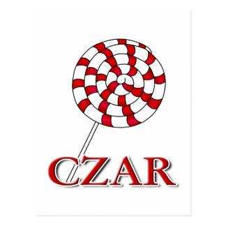 Lollipop Czar Postcard