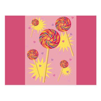 Lollipop Dance Postcard