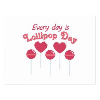 Lollipop Day Postcard
