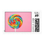 Lollipop del arco iris sellos