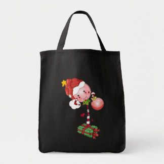 Lollipop del navidad bolsa tela para la compra