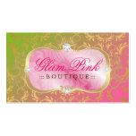 Lollipop divino de oro del disco rosado pródigo 31 plantillas de tarjetas personales