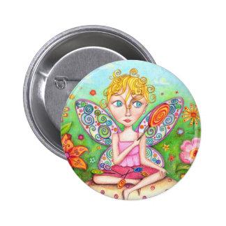 Lollipop Faerie 2 Inch Round Button