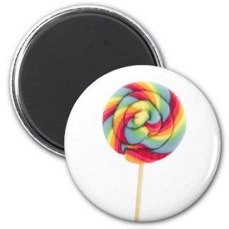 lollipop gigante imán redondo 5 cm