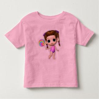 Lollipop Girl Cutie Children's Retro Toddler T-shirt