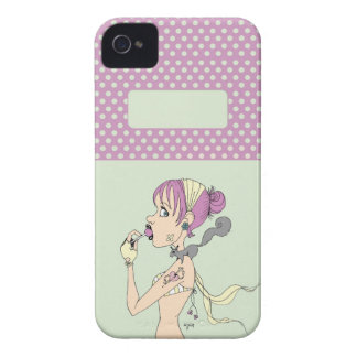 Lollipop Girl iPhone 4 Cover