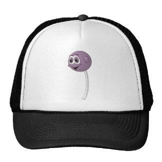 Lollipop Grape Cartoon Trucker Hat
