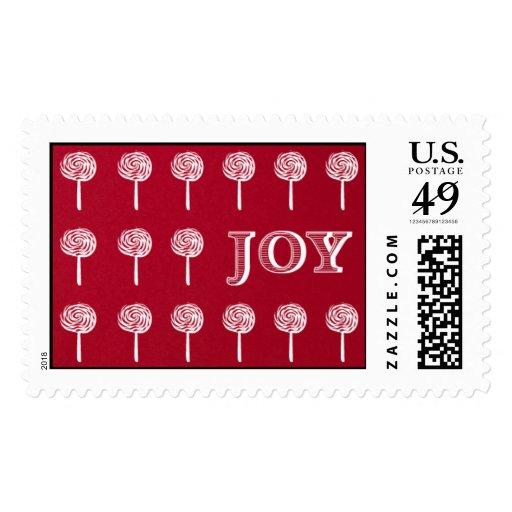 Lollipop Joy - Geisha Postage Stamp