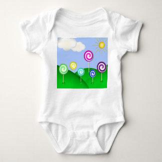 Lollipop land infant creeper