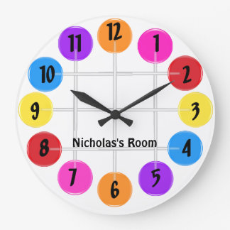 Lollipop Large Clock