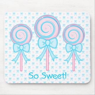 Lollipop lindo tapetes de ratón