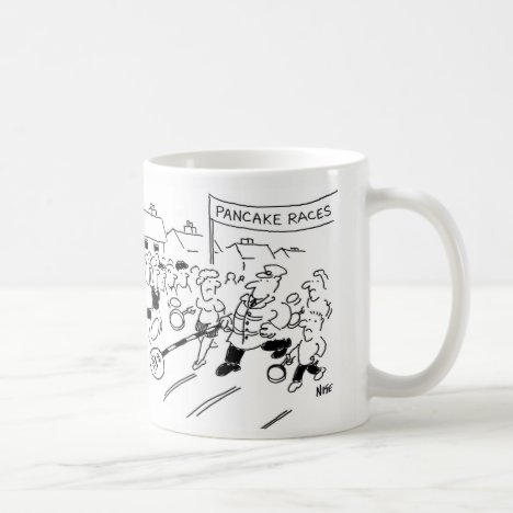 Lollipop Man Unfair Advantage Pancake Race Coffee Mug